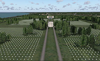 Bill Womack - Normandy American Cemetery