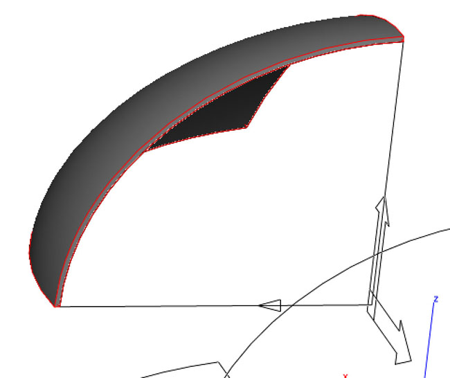 CAD Techniques for Making Aeroplane Canopies