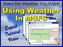 TopSkills Using Weather in MSFS