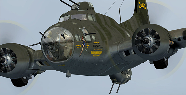Aeroplane Heaven - B-17 Flying Fortress for FSX and Prepar3D