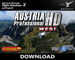 Aerosoft - Austria Professional HD - East for FSX & P3D