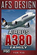 AFS-Design - Airbus A380 Family for P3D