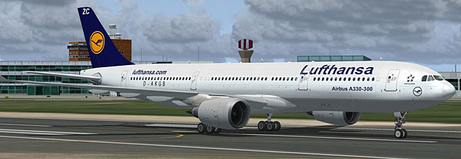 AFS Design - Airbus A330 for P3D