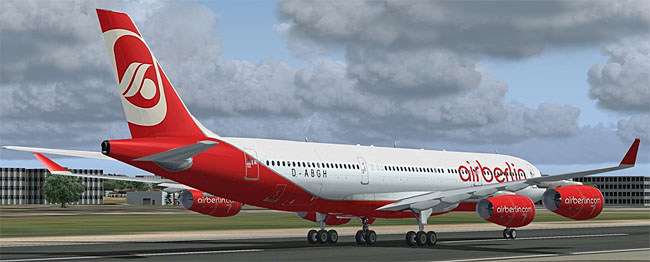 AFS Design - Airbus A340 for P3D
