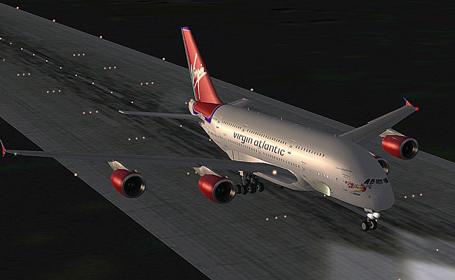 AFS Design - Airbus A380 v3 for FS2004