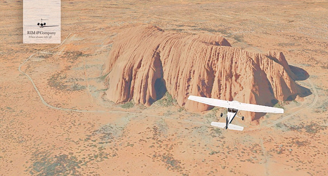 RIM and Company - Ayers Rock for X-Plane