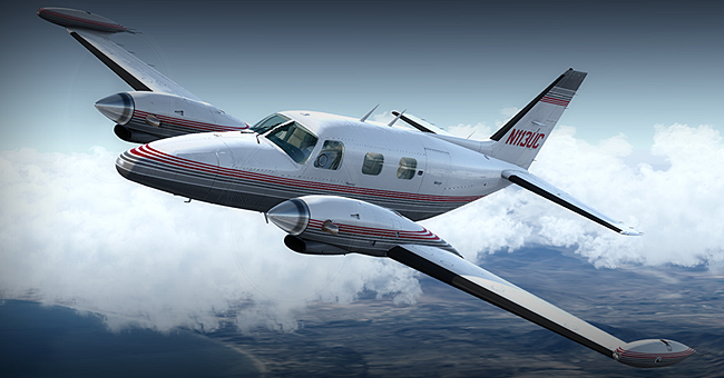 Carenado - PA31T Cheyenne II HD Series for FSX and P3D