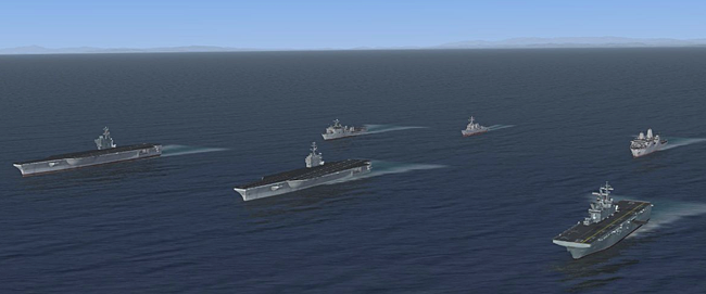 Haze Gray Studios - AI Fleet Traffic - US Navy