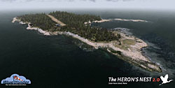 iBlueYonder - Herons Nest flight simulator scenery