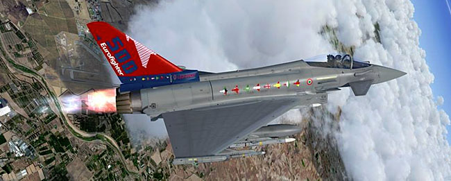 IndiaFoxtEcho - 500th Eurofighter Typhoon
