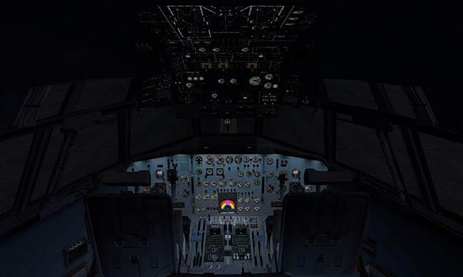 Flight1 / JSS Simulations - Transall C-160 interior