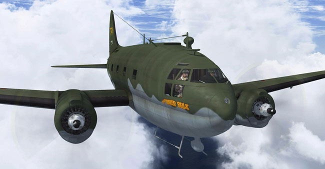 Just Flight - C-46 Commando