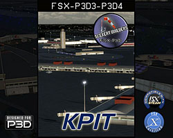 FSX-P3D Scenery - KPIT Pittsburgh Int'l Airport
