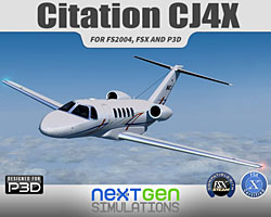 NXGN Simulations - Citation CJ4X