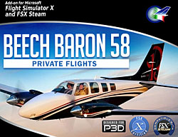 Perfect Flight - Private Flights Beech Baron 58