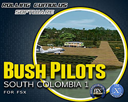 Rolling Cumulus - Bush Pilots South Colombia 1