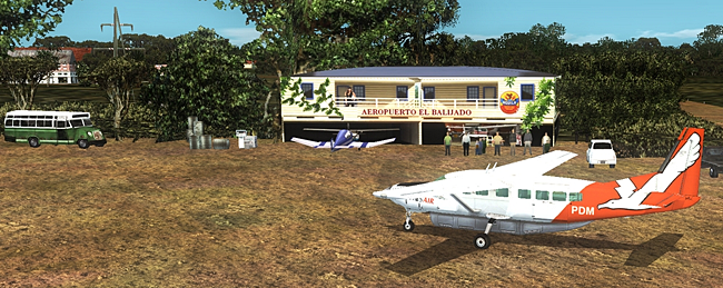 Rolling Cumulus - Bush Pilots South Colombia 1 flight simulator adventure package