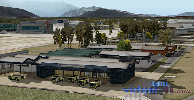 Aerosoft - Airport SCEL Santiago International 2.0 XP