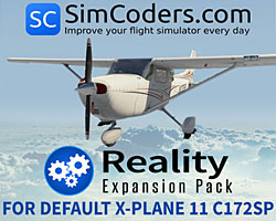 SimCoders - Reality Expansion Pack for Default X-Plane 11 C172SP
