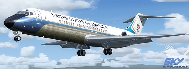 Sky Simulations McDonnell Douglas DC-9 military versions