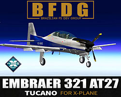 BFDG - Embraer 321 AT27 Tucano for X-Plane 11