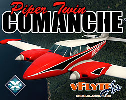vFlyte Air - Piper Twin Comanche for X-Plane 11