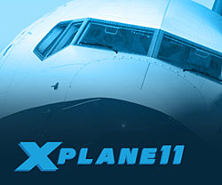 X-Plane 11 flight simulator from Laminar Research
