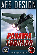 AFS Design - Panavia Tornado v2 for FSX Steam