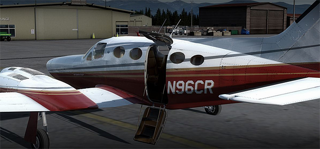 Alabeo - Cesssna C421C Golden Eagle for FSX/P3D