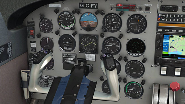 Just Flight - Archer III interior