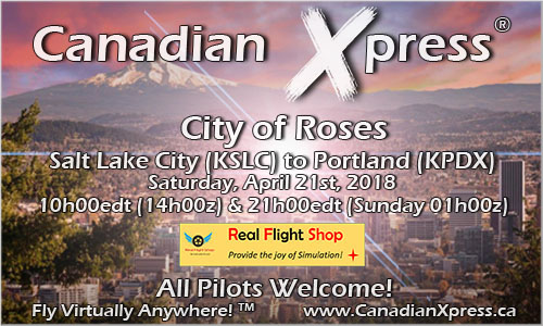 Canadian Xpress April Fly-In - City of Roses