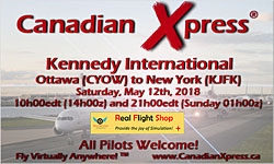 Canadian Xpress May Fly-In - Kennedy Int'l
