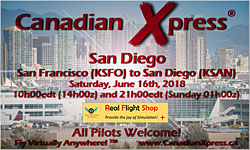 Canadian Xpress June Fly-In - San Diego