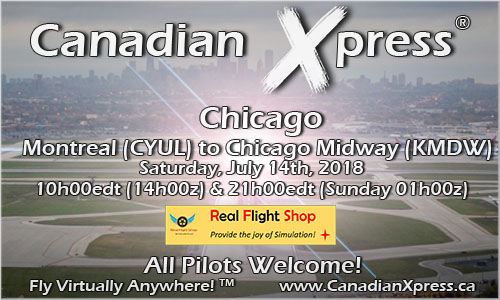 Canadian Xpress July Fly-In - Chicago