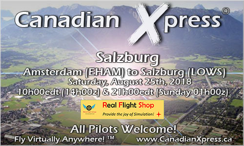 Canadian Xpress August Fly-In Salzburg
