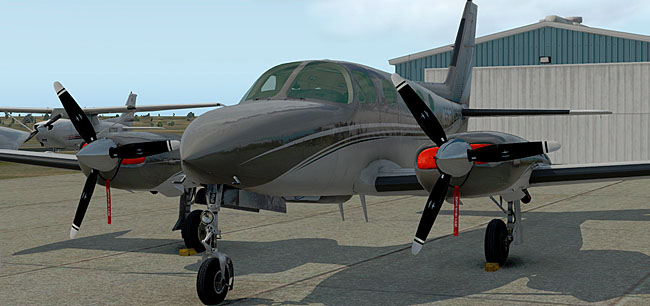 Carenado C340 II X-Plane 11