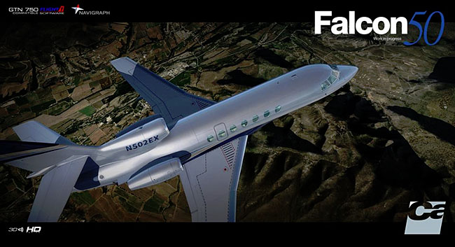 Carenado - Falcon 50