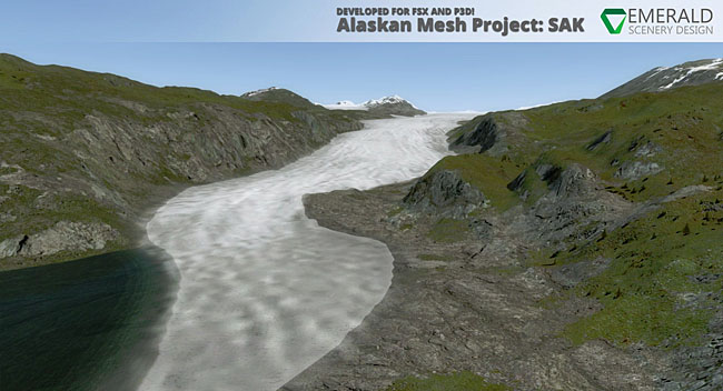 Emerald Scenery Design Alaskan Mesh Project Expands To Cover ORBX SAK
