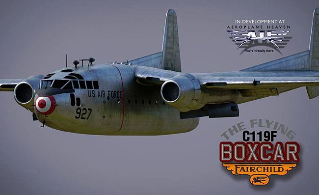 Aeroplane Heaven - C-119 Flying Boxcar