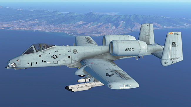 Infinite Flight A-10