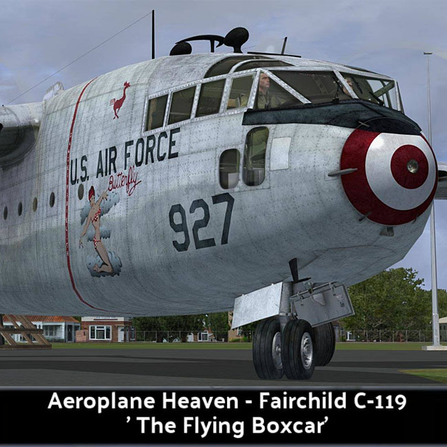Aeroplane Heaven - Fairchild C-119F - The Flying Boxcar