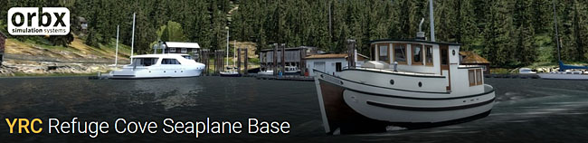 YRC Refuge Cove Seaplane Base - Freeware From Orbx