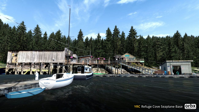 Refuge Cove Seaplane Base - Freeware From Orbx