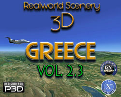 RealWorld Scenery 3D - Greece Vol. 2.3