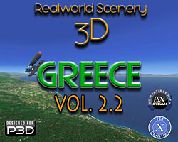 RealWorld Scenery 3D - Greece Vol. 2.2