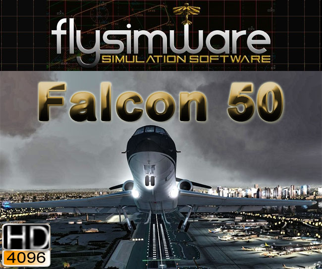 Flysimware ¡V Falcon 50 for FSX and P3D