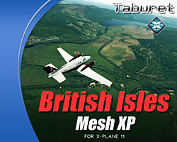 Taburet - Mesh XP British Isles for X-Plane 11
