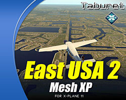 Taburet - Mesh XP East USA 2 for X-Plane