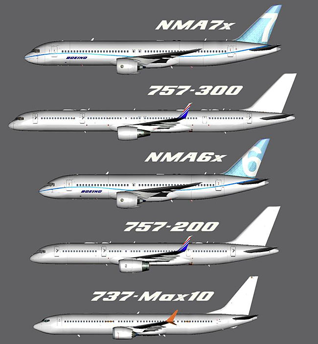 TDS NMA6 Research Model 2018 compared to other aircraft