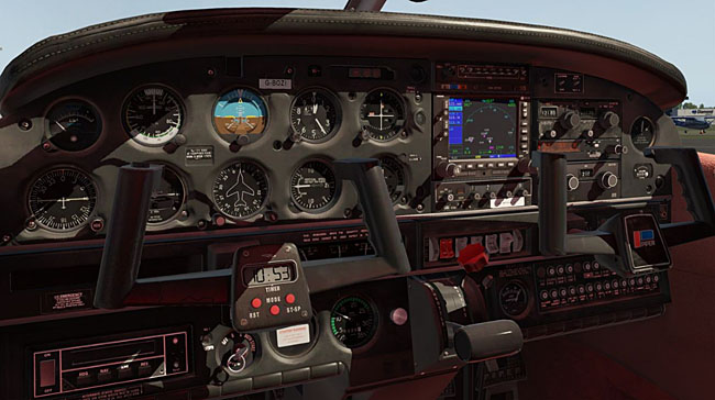 Just Flight - PA-28-161 Warrior II XP for X-Plane 11 - cockpit